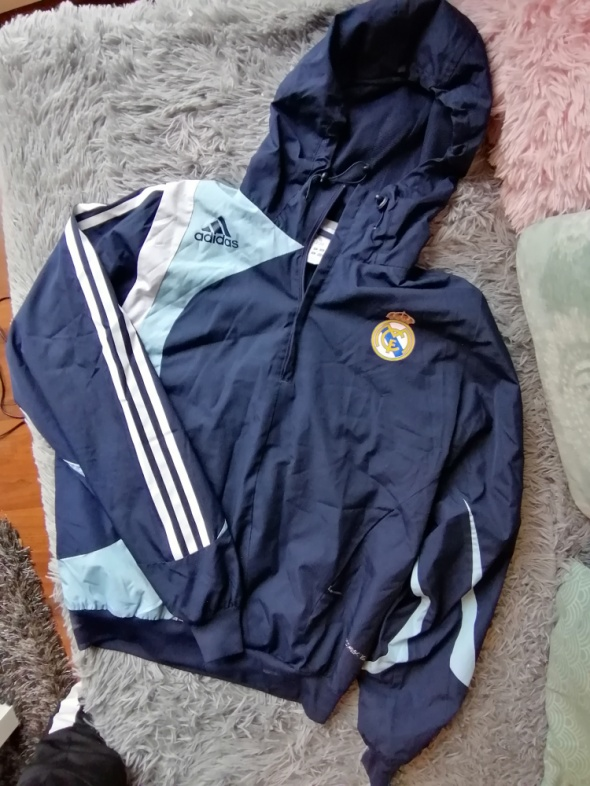 Odzież wierzchnia Bluza kurtka Real Madryt Adidas