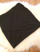 Asymetryczna czarna spódniczka spódnica mini butik H&M zara S t...