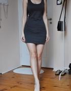 Szara sukienka tuba...