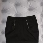 Spódniczka Cropp Czarna Zip