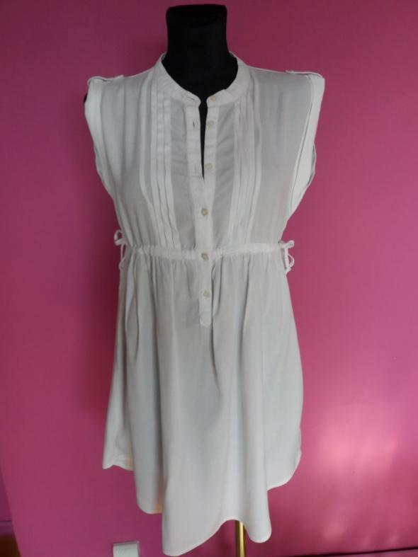 Biała Sukienka Vero Moda