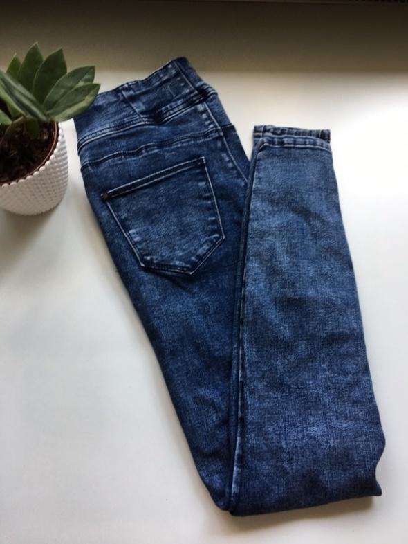 New Look jeansy rurki wysoki stan S...