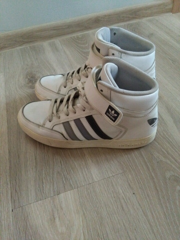 Adidasy białe