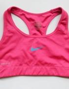 Stanik Sportowy Nike Pro Różowy XS 34 Siłownia Fitness...