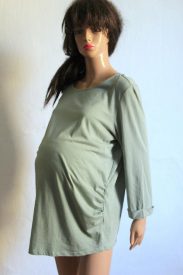 Bluzki Tunika bluzka ciążowa na długi rękawek r 44