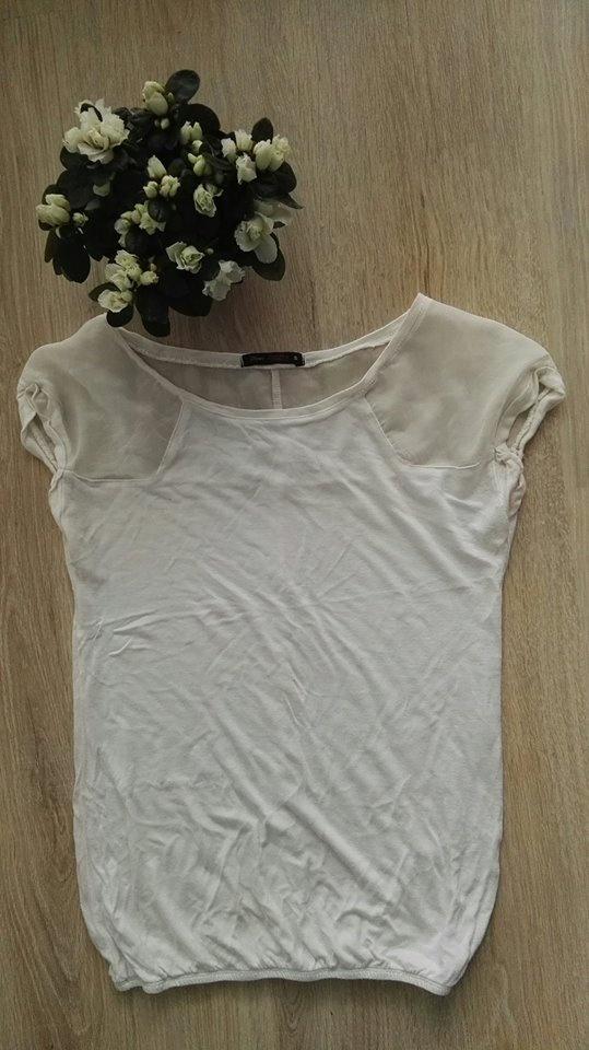 Bluzka biała Bershka rozmiar 36...