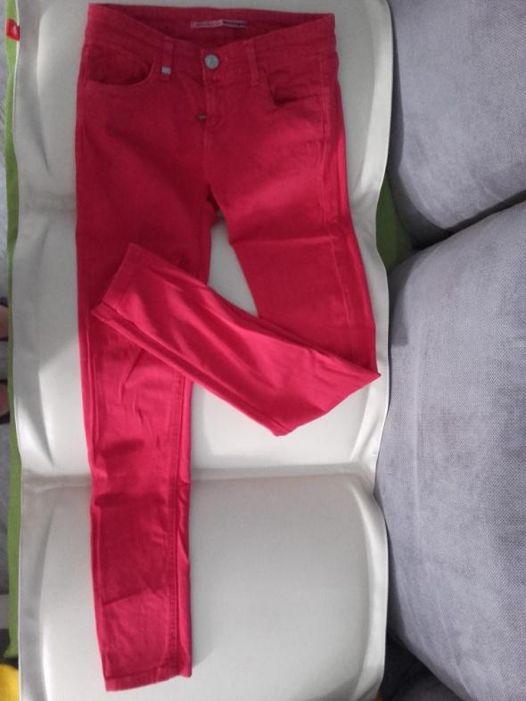 Spodnie Czerwone spodnie STRADIVARIUS