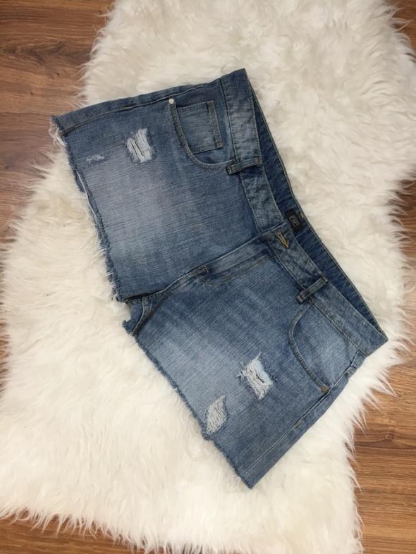 Spodenki Spodenki jeans przetarcia XL