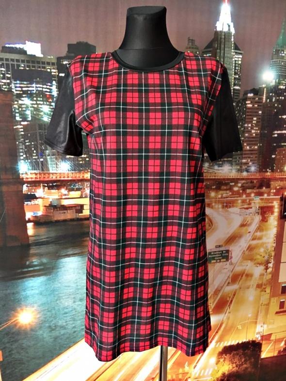 river island sukienka krata luźny fason casual 36...