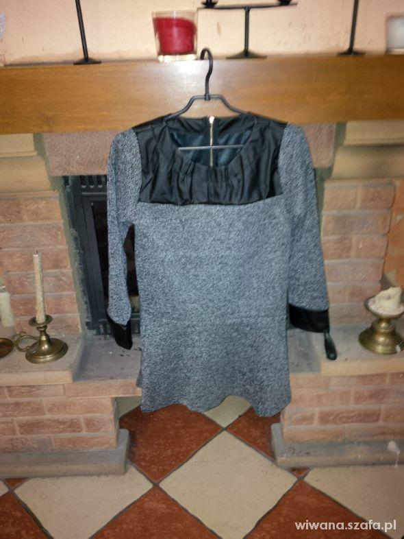 nowy sweter z baskinką