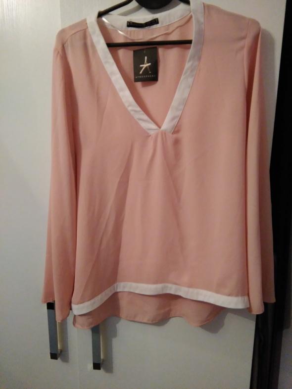 pudrowa koszula