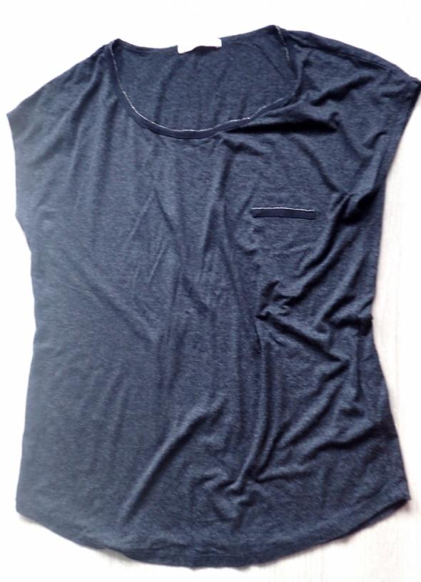 Bluzki Camaieu M zdobne zamki grafitowa