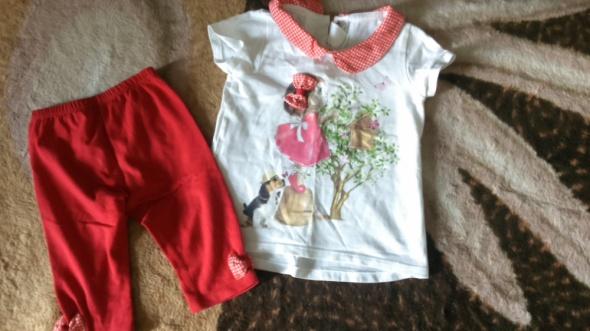 Komplet dla dziewczynki 74 bluzeczka spodenki...
