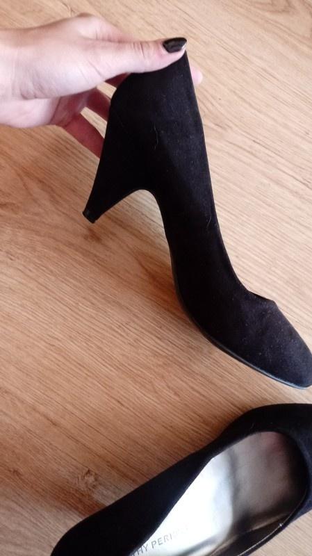 Czółenka Czarne buty na korku Dorothy Perkins