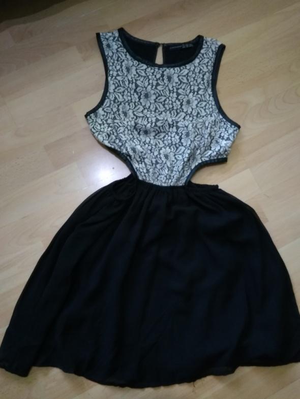 Suknie i sukienki Sukienka na wesele Sylwestra czarna S Atmosphere