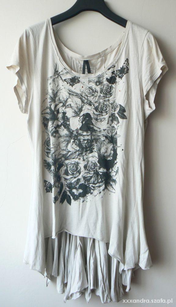 oryginalna bluzka beżowa koszula next