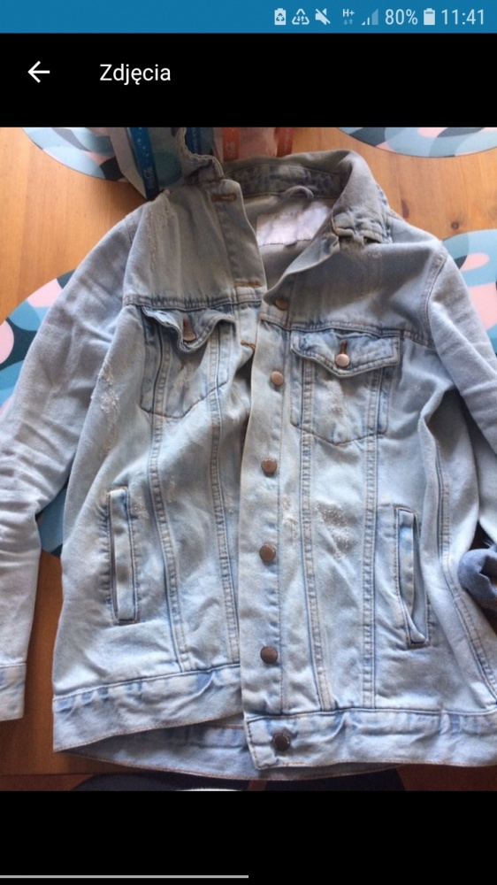 Katana cropp jeansowa
