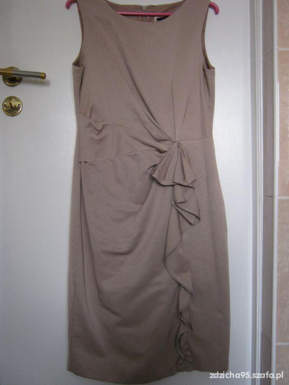 Suknie i sukienki Sukienka nude