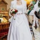Autorska suknia folk inspirowana Gala Kalmia