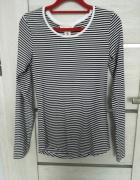 Koszulka top w paski h&m roz 38