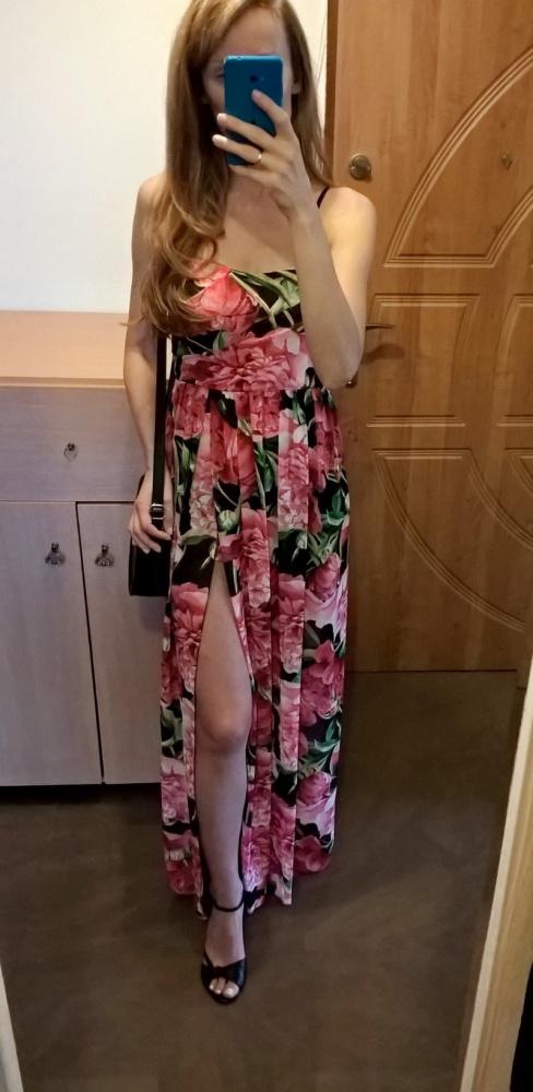 Romantyczna sukienka...
