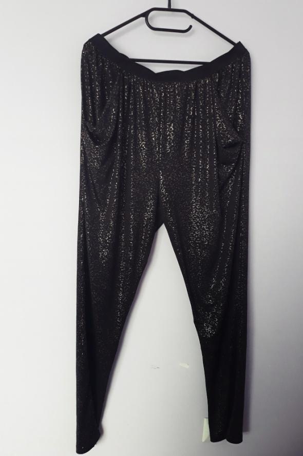 Czarno złote spodnie rozmiar 40...