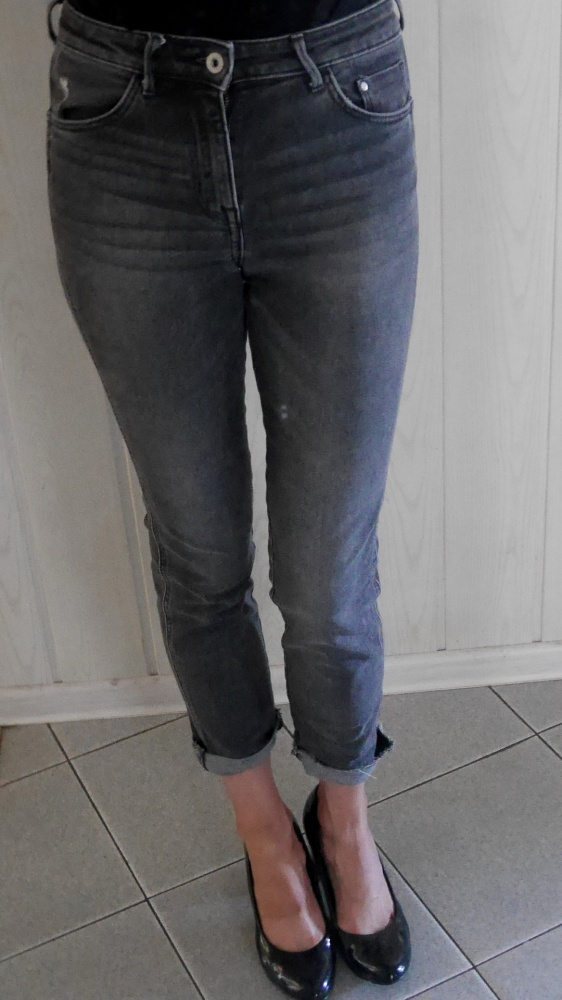 Nowe H&M jeansy XS 34 mommy jeans