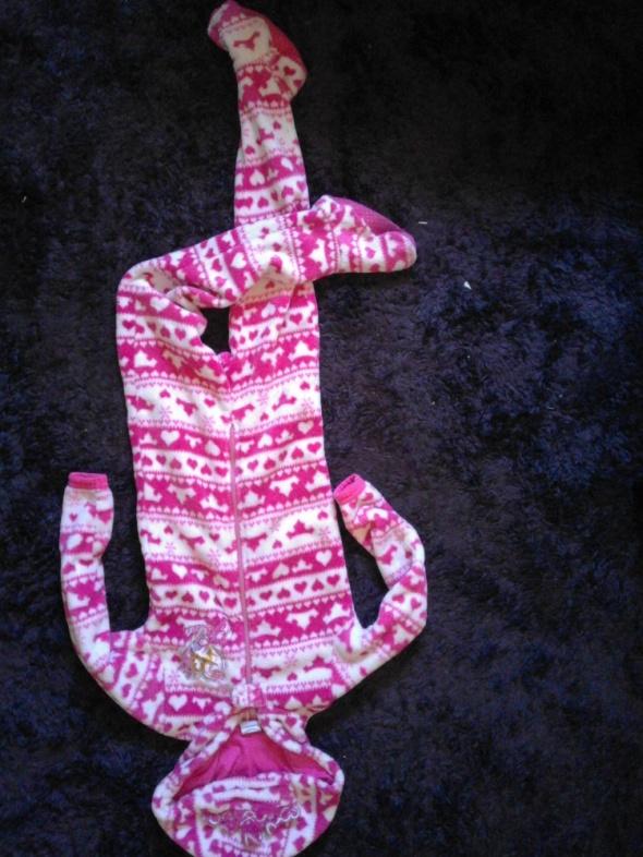 Piżamki Piżama ciepły polar Barbie
