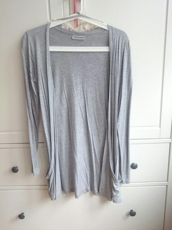 Swetry Narzutka szara c&a S 36 kieszenie