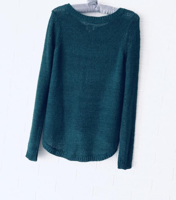 Sweter Only 36 S butelkowa zieleń...