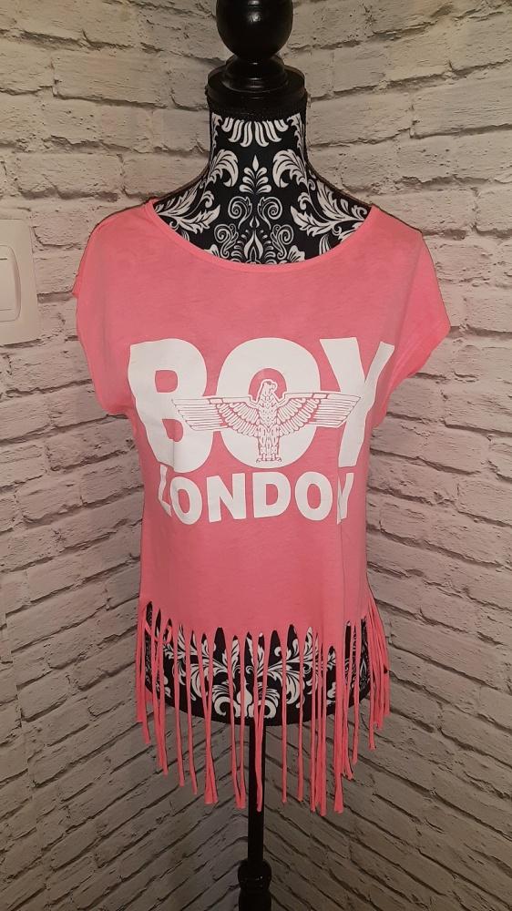 Idealna różowa bluzka z frędzlami