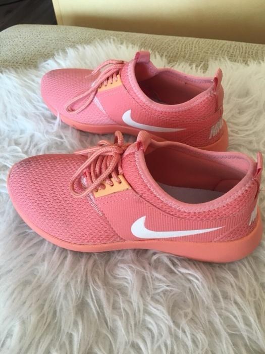 Nike juvenate pomarańczowe buty sportowe adidasy trampki siatec...