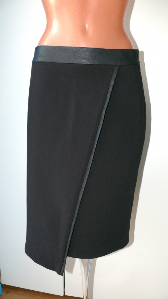 top secret czarna elegancka spódnica 38...
