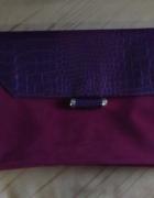 Nowa kopertówka burgund Primark A4...