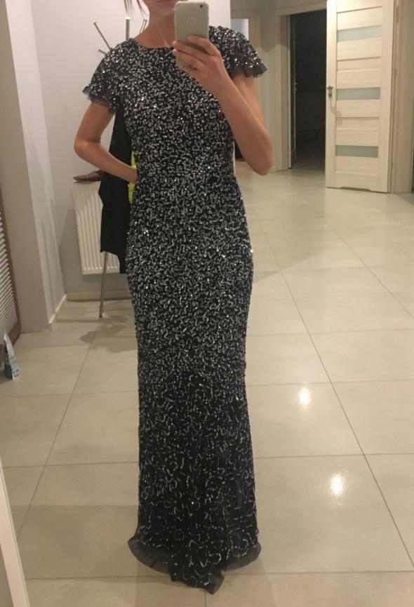suknia cekinowa Maya Delue nowa 38 M