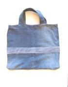 Dżinsowa eko torba dżins torba do ręki...