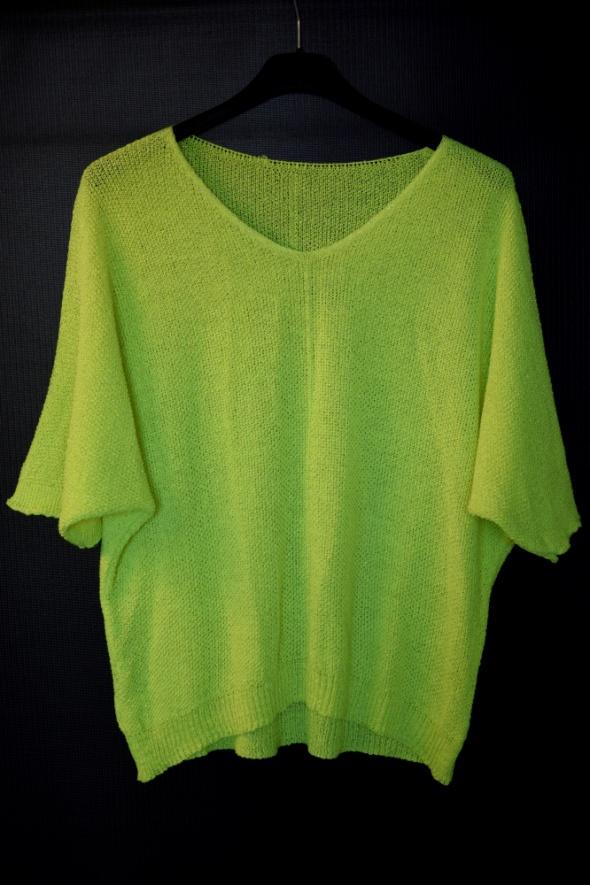 Nowy sweterek neon...