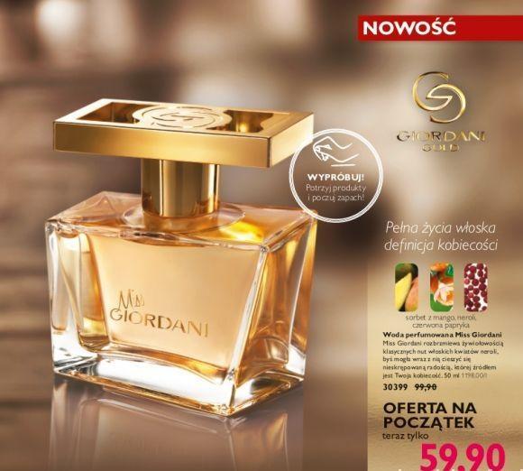 Miss giordani woda perfumowana...