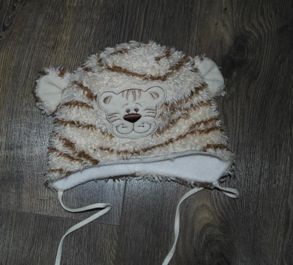 Czapki Czapeczka zimowa tygrysek obw 45