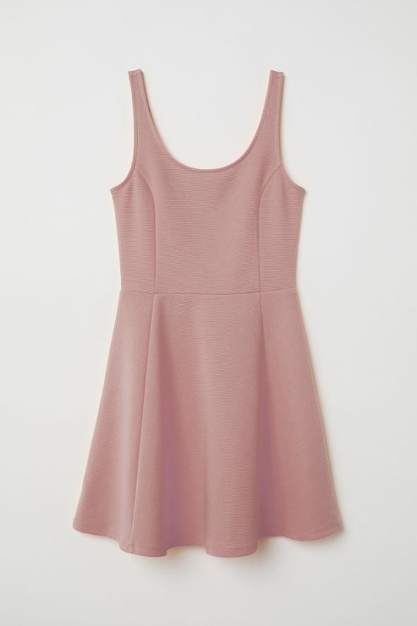 H&M różowa sukienka 42 XL
