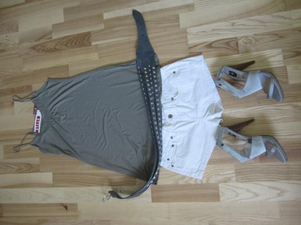 Spodenki szorty spodenki M 38cross jeans białe s