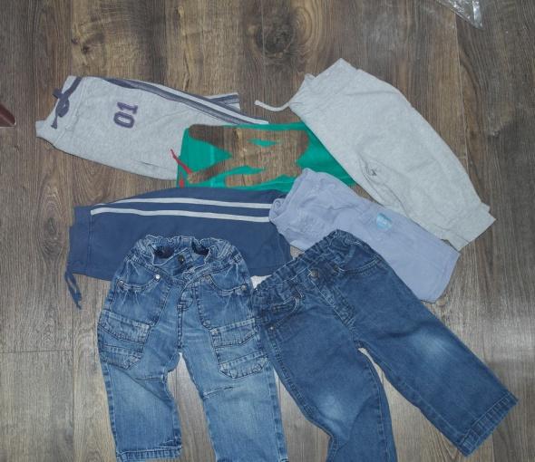 Spodnie dżinsowe sportowe różne 72 86