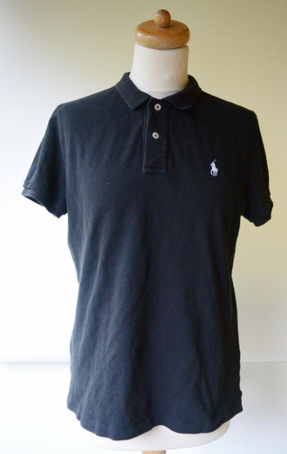 Koszulka Polo Czarna Ralph Lauren XL 42 Skinny Polo