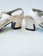 X GIRL Srebrne sandałki dziewczęce r 28...