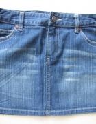 38 M dzinsowa mini spódniczka jak nowa...