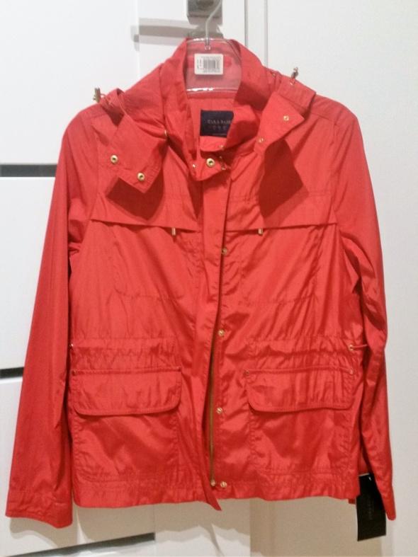 ZARA S 36 czerwona kurtka wiatrówka nowa z metką