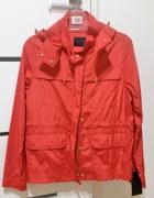 ZARA S 36 czerwona kurtka wiatrówka nowa z metką...