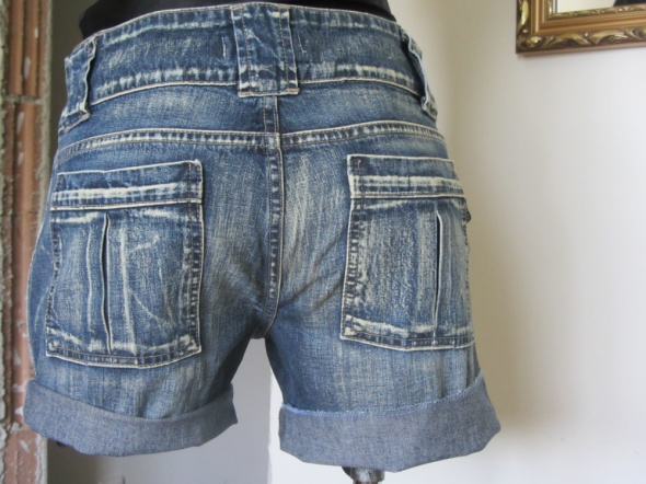 szorty spodenki cross jeans m l wysoki stan ombre...