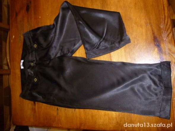 Spodnie Rybaczki brązowe L