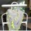 Tally Weijl beżowa chusta neon frędzle nude kulki